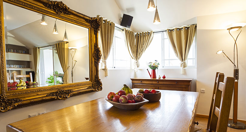 Lifestyle, Modern Mirror In Dining Room Feng Shui